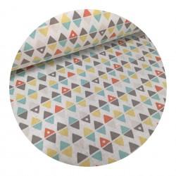 Tissu Coton Triangle...