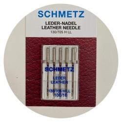 Aiguilles Cuir Schmetz N°100